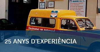 25 Anys Experiencia