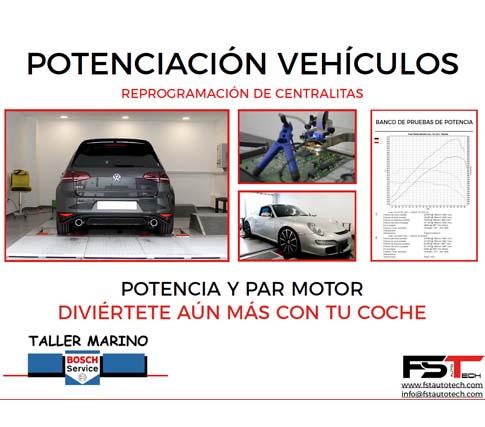 Potenciació de Motor Taller Marino Masquefa