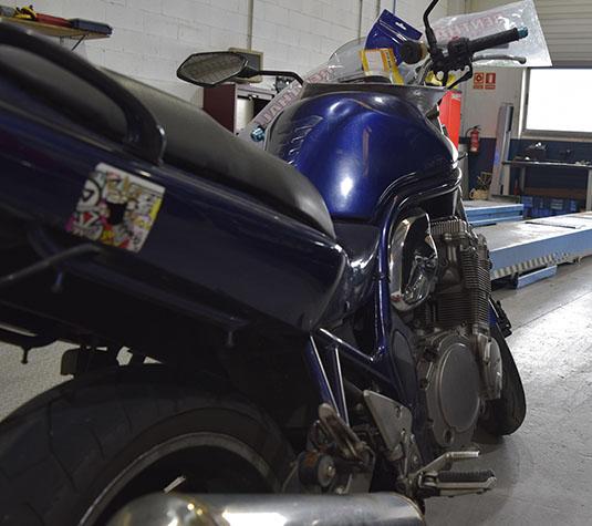 Taller Marino motos offroad